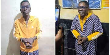 Ghana Police Arrests Shatta Wale over Fake Gunshot Attack The Ghana Police Service (GPS) has announced that it has arrested Charles Nii Armah Mensah, popularly known as Shatta Wale, and two others for staging a gunshot attack on Monday, October 18, 2021.
